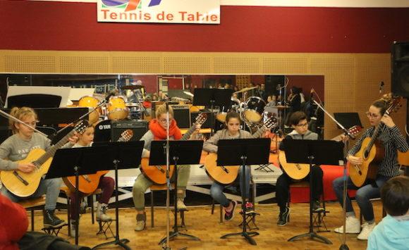 Orchestre de guitares
